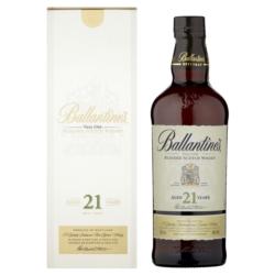 Ballantines 21YO 0,7L 40% W KARTONIKU