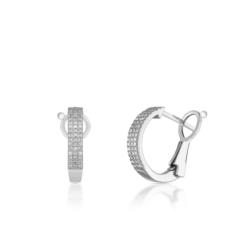 Kolczyki z diamentami W.KRUK ZSJ/KB+194B