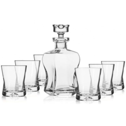Komplet do whisky 7-częściowy KROSNO SIGNATURE