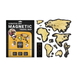 Travel Map Magnetic World