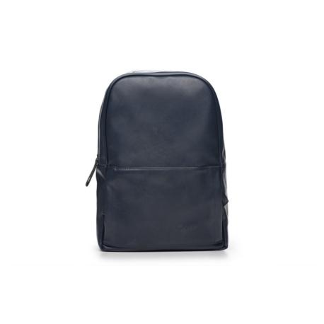 Granatowy elegancki plecak miejski Solier FORRES