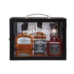 ZEST.(JACK DANIEL'S WHISKEY 0.7L 40% + GENTLEMAN JACK 0.7L 40% + JD SINGLE BARREL 0.7L 45%)
